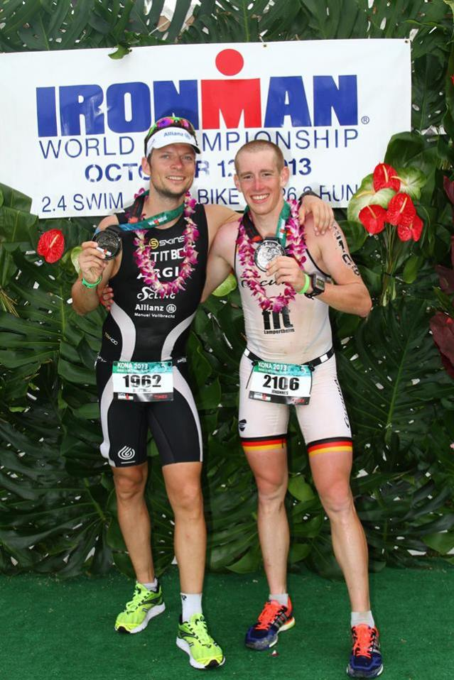 Kappel & me Finish Ironman Hawaii