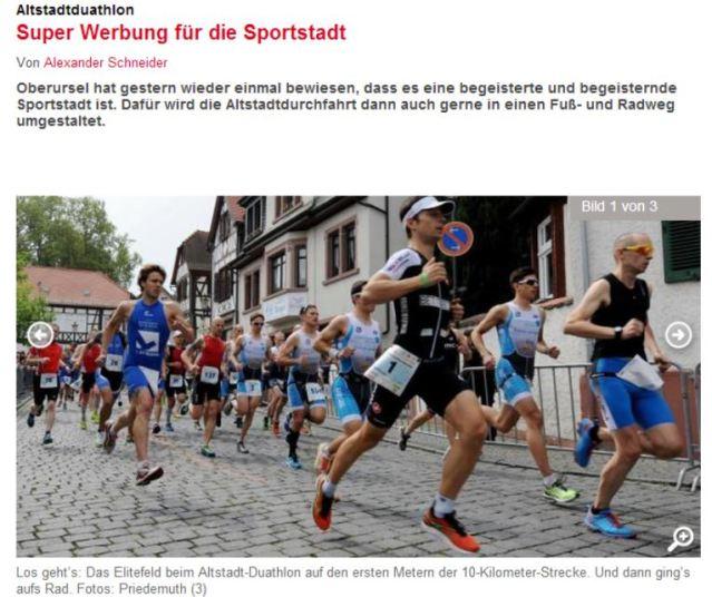 Foto Zeitung Oberursel 2014
