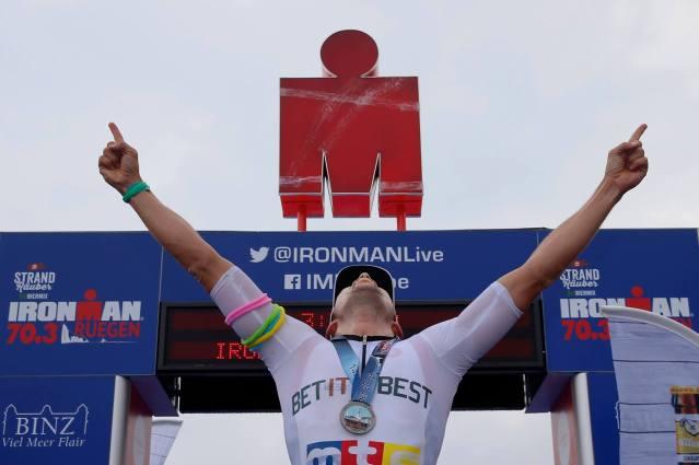 Matthias Knossalla Finish Ironman 70.3 Rügen